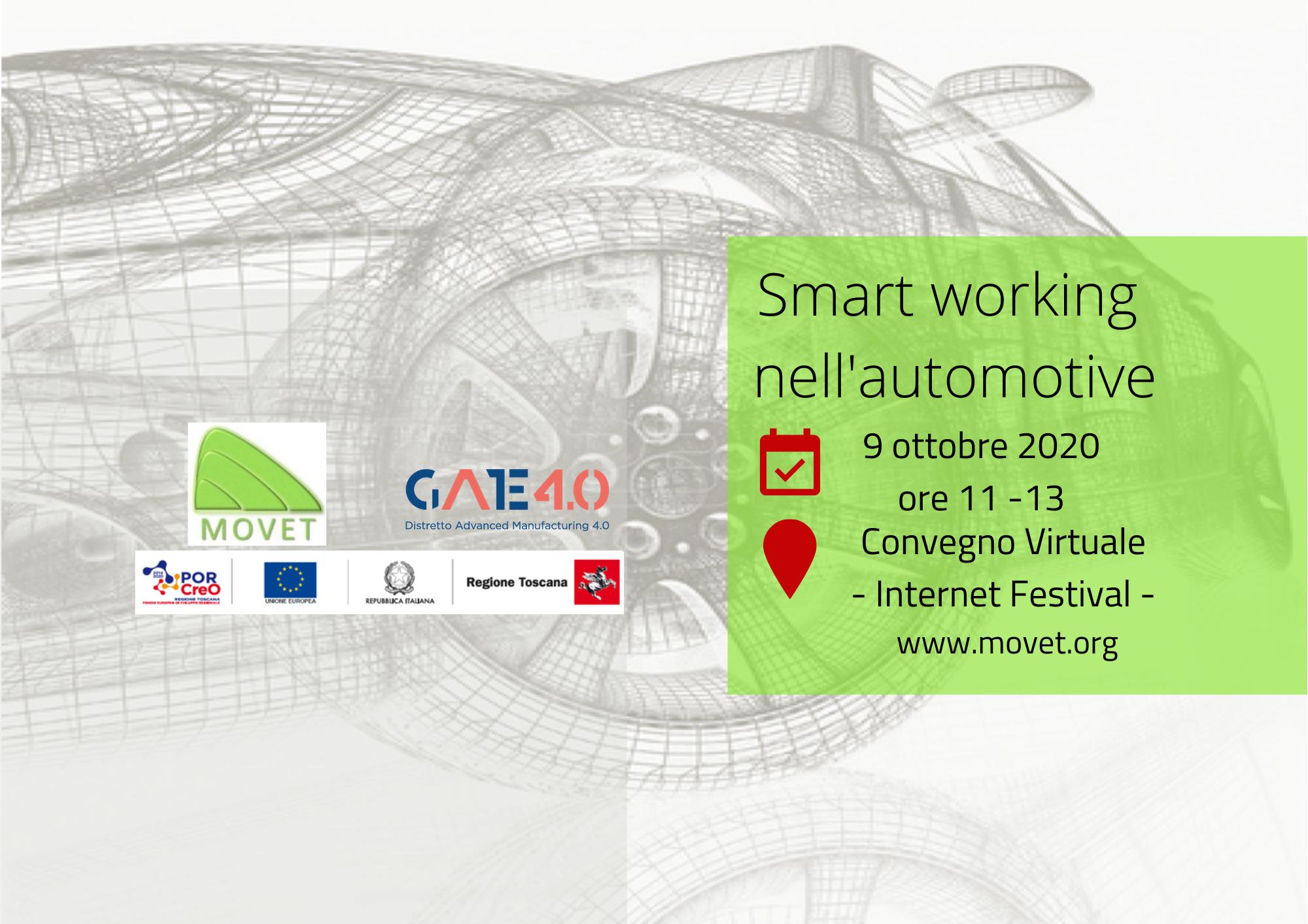 Smart working nel settore automotive. Il nuovo evento di Movet